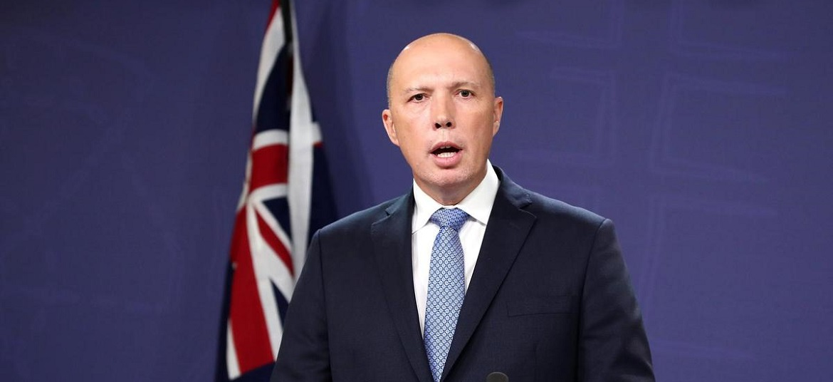 Australian home minister Peter Dutton tested positive for coronavirus
