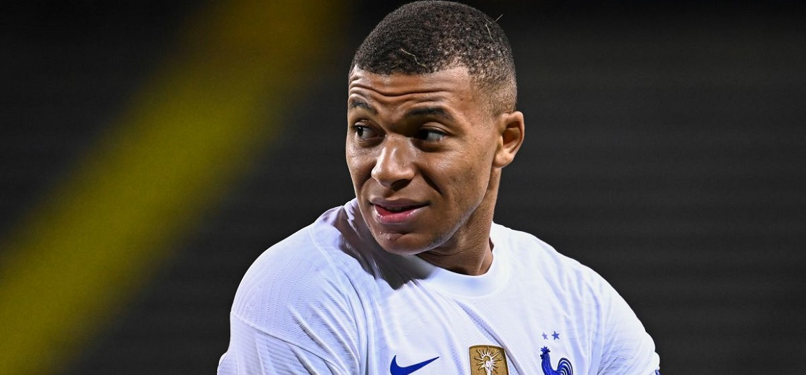 Kylian Mbappe tested positive for Coronavirus while playing with France